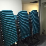 MCC's New Chairs Arrive! – Sept '15