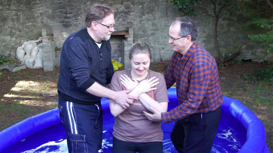 Mandy's Baptism – Easter 2016