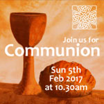 Communion Service Sun 5 Feb