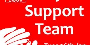 Prayer Support Team Jan 26