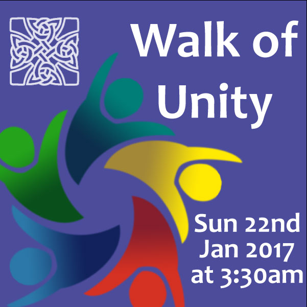 Walk of Christian Unity Sun 22nd Jan