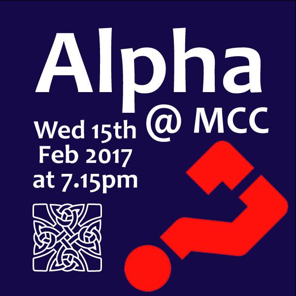 Alpha Wed 15th Feb