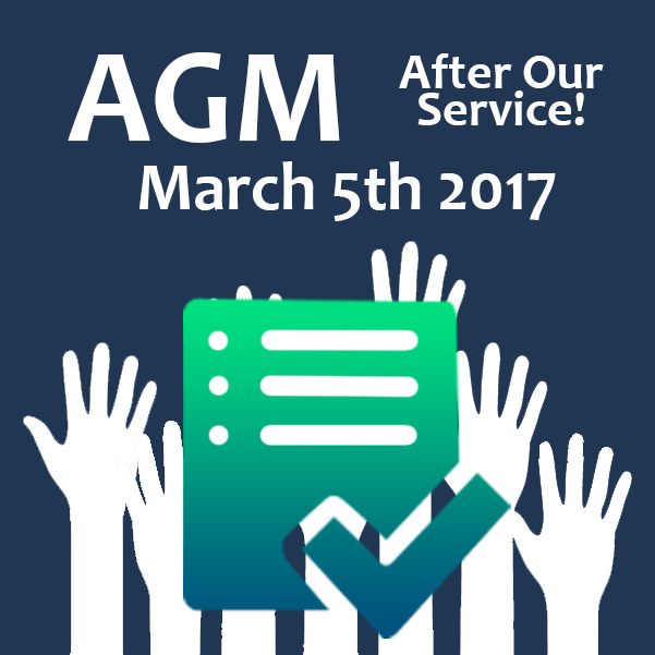 AGM!  Sunday  5th March