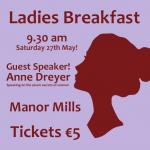 Ladies Breakfast Sat 27th May!
