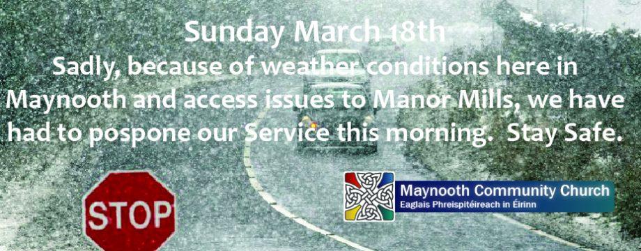 Service Postponement